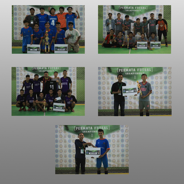 Hasil turnamen Permata Futsal Championship I
