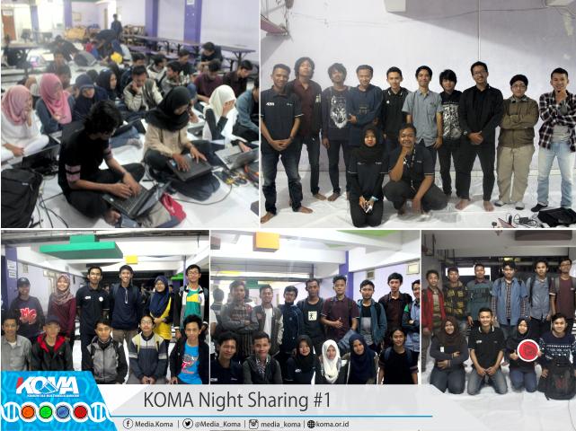 KOMA Night Sharing 1