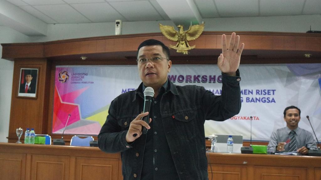 Workshop Metodologi Penelitian dan Manajemen Riset Dalam Upaya Meningkatkan Daya Saing Bangsa