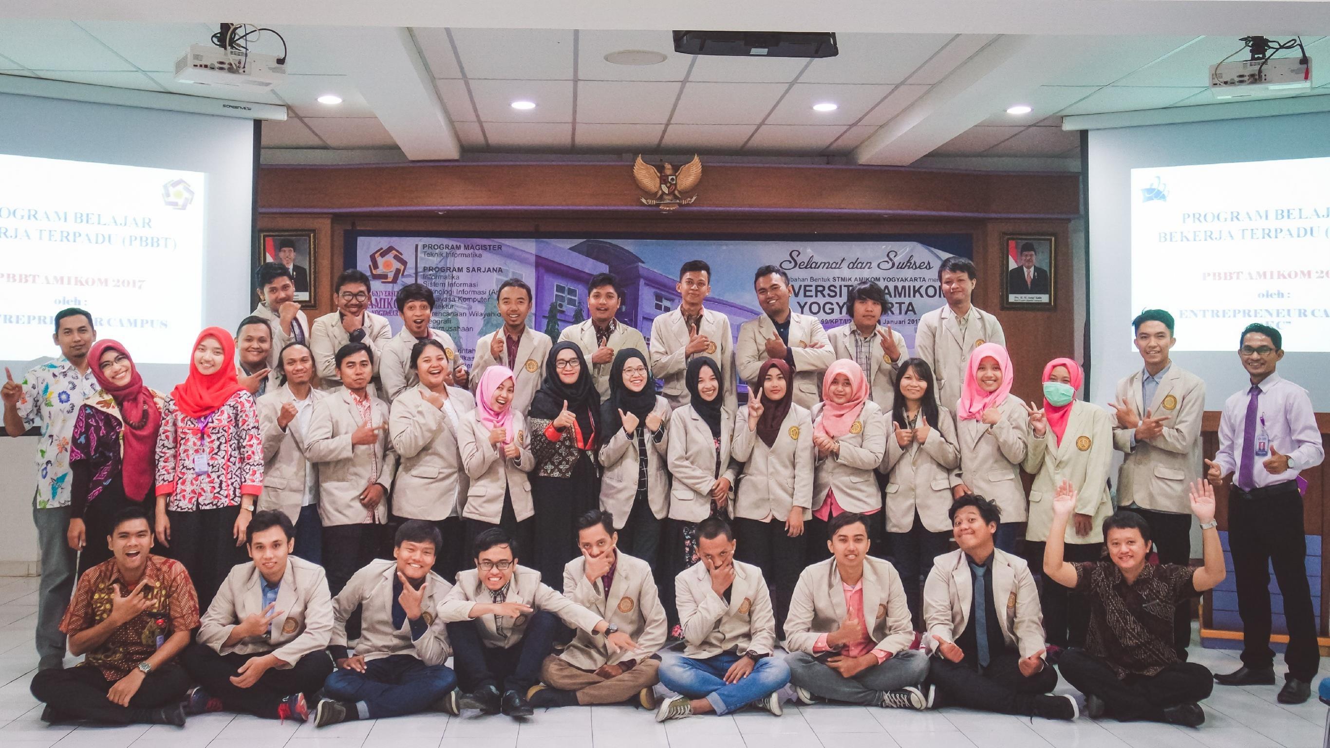 30 Mahasiswa Amikom Ikuti Program Belajar Bekerja Terpadu KEMENRISTEKDIKTI