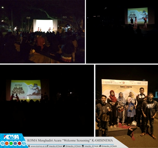"KOMA Menghadiri Acara ""Welcome Screening"" KAMISINEMA"
