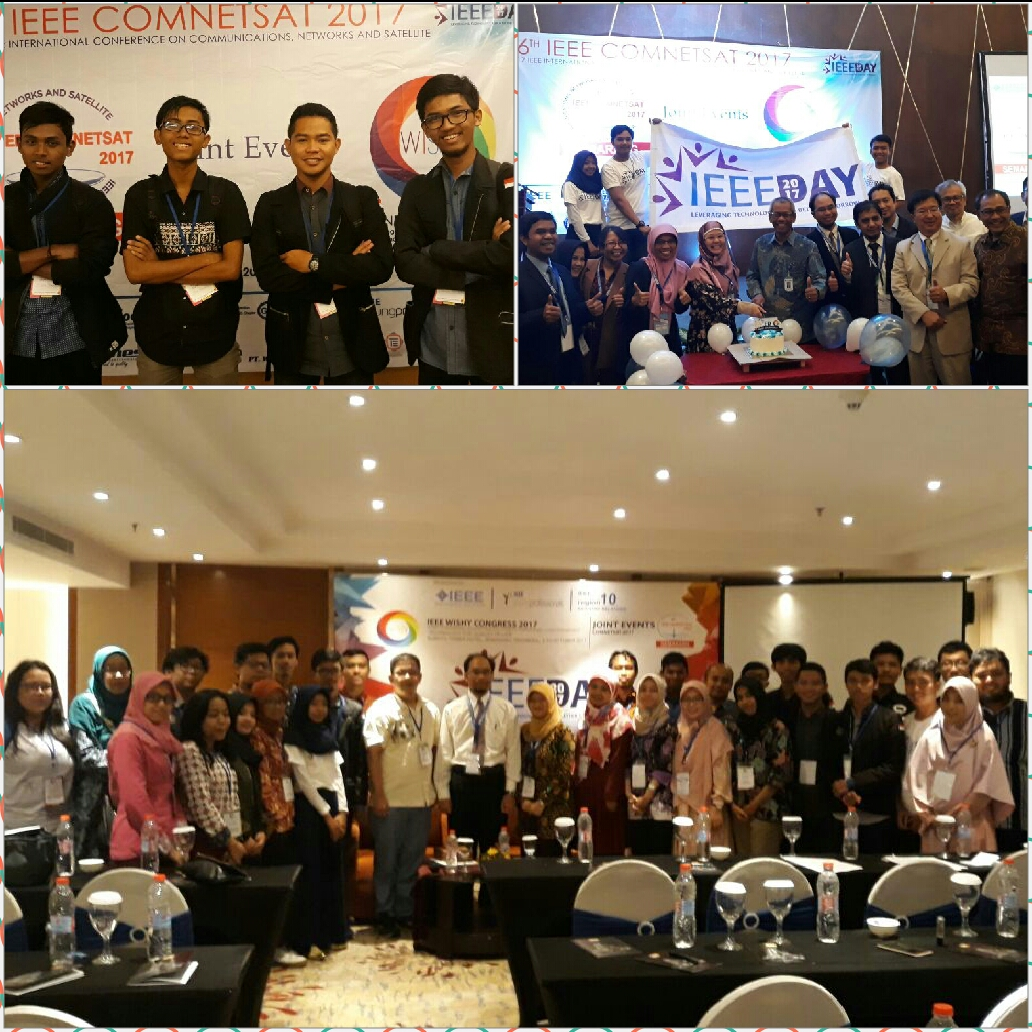 Delegasi IEEE Amikom Student Bracnh di IEEE Day 2017