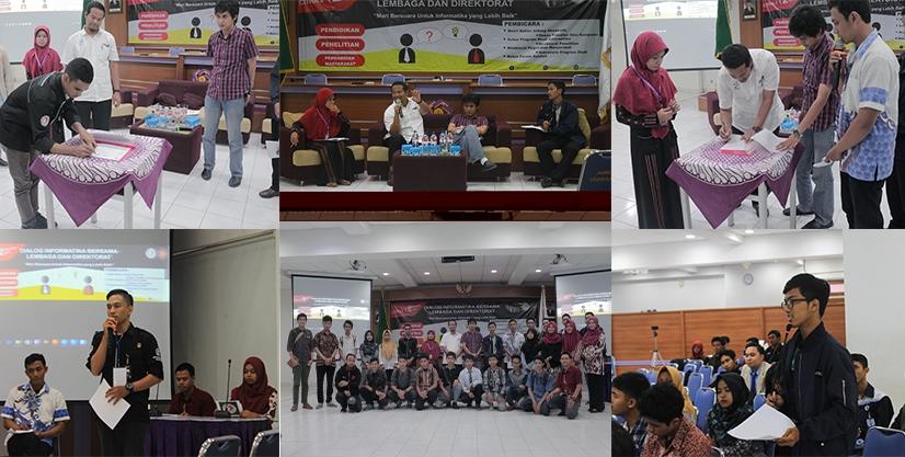 Dialog Informatika Bersama Lembaga Dan Direktorat 2017