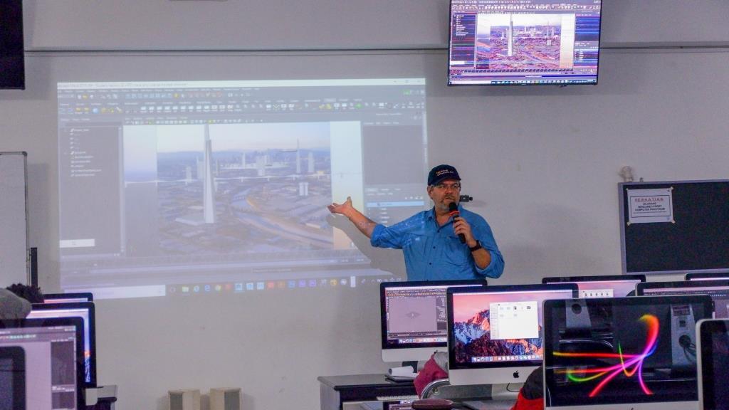 Pakar Visual effect kelas dunia memberikan Kuliah Master Class kepada Mahasiswa Universitas AMIKOM Yogyakarta