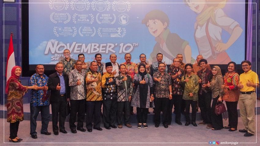 Kopertis Se-Indonesia berkunjung ke Unversitas AMIKOM Yogyakarta