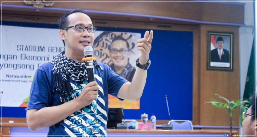 Studium General Pengembangan Ekonomi kreatif dalam menyongsong era digital