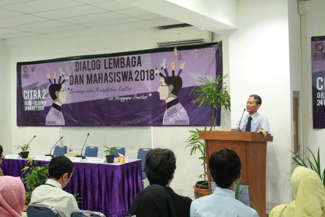 Dialog Lembaga dan Mahasiswa 2018