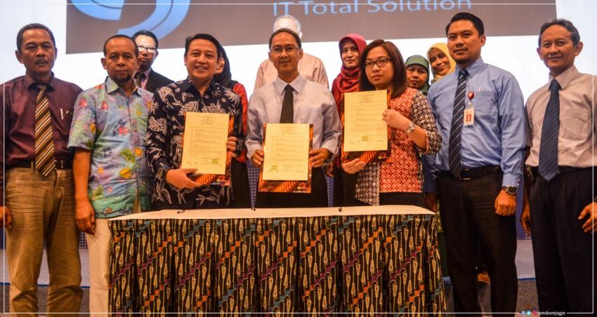 Bursa Efek Indonesia (BEI) Meresmikan Galeri Investasi Amikom