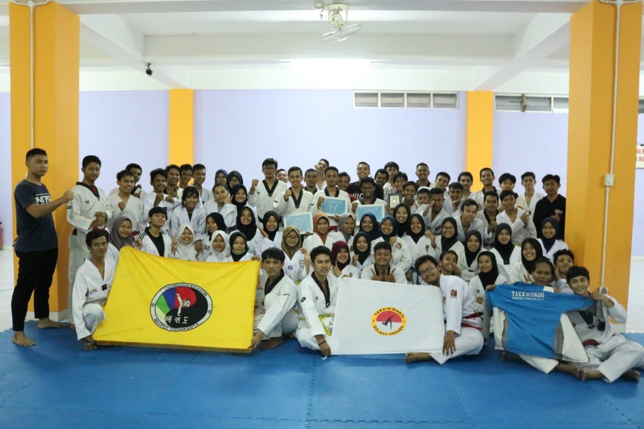 Tryin Taekwondo Amikom 2018