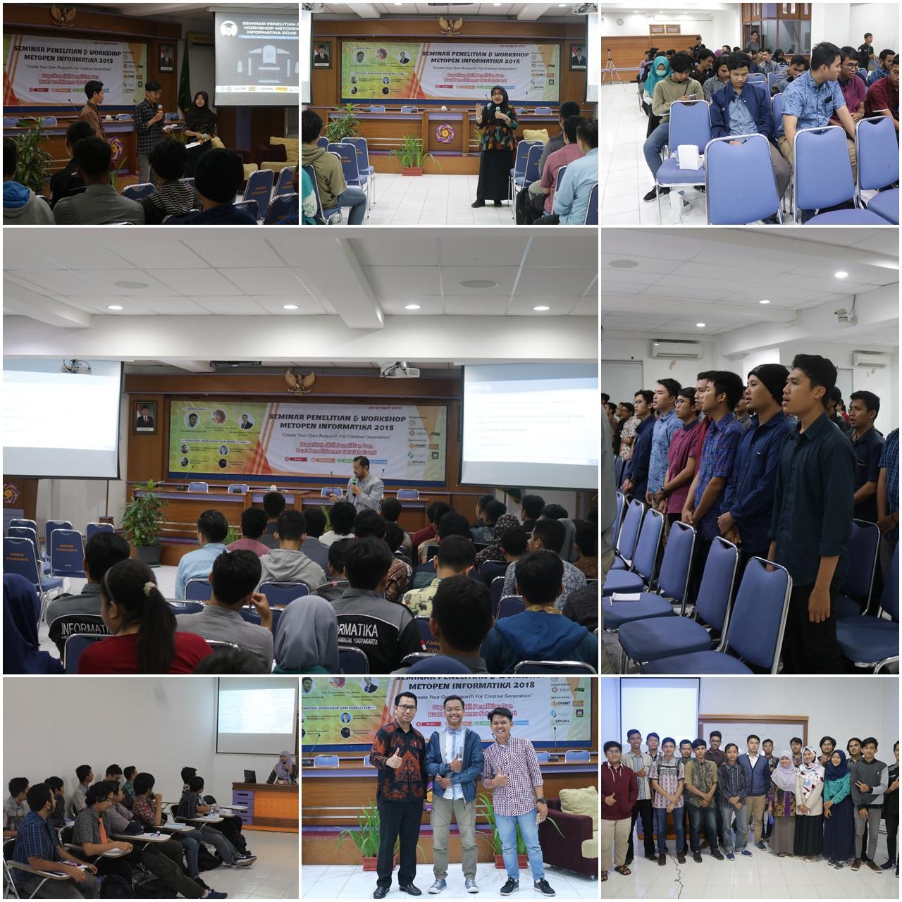 Seminar Penelitian Dan Workshop Metopen Informatika 2018