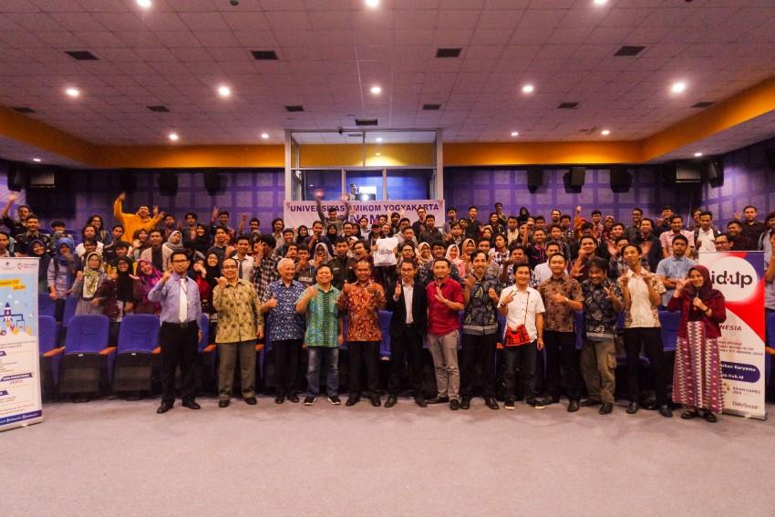 Sosialisasi dan Paparan Indonesia Up 2018