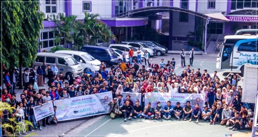 242 Mahasiswa dan Alumni Ikuti Mudik Bareng Universitas Amikom Yogyakarta