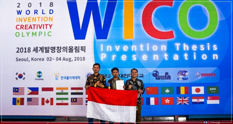 Fishgator Raih Gold Medal dalam WICO Award 2018 di Korea Selatan.