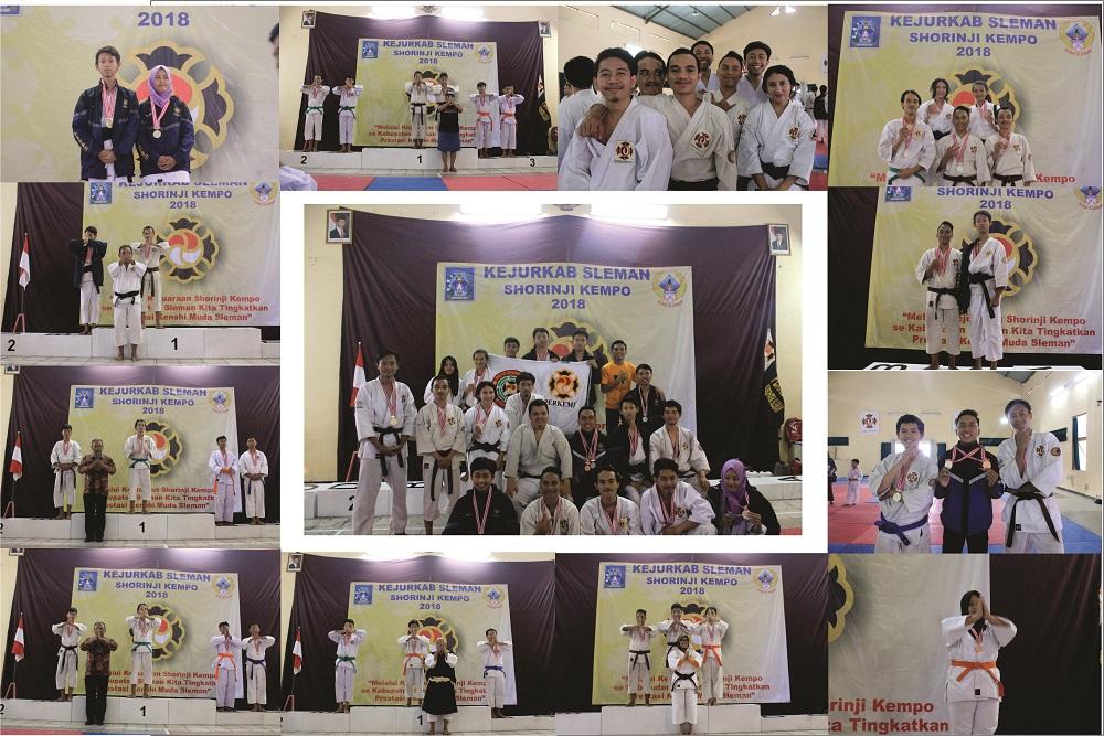 Shorinji Kempo AMIKOM telah membawa 16 Medali dan Memperoleh JUARA UMUM 2 di Kejuaraan tingkat Kabupaten