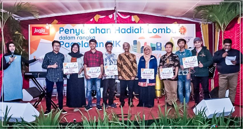 Inovasi Garapan Mahasiswi Amikom Menjadi Juara 1 Aplikasi Jogja Smart Province
