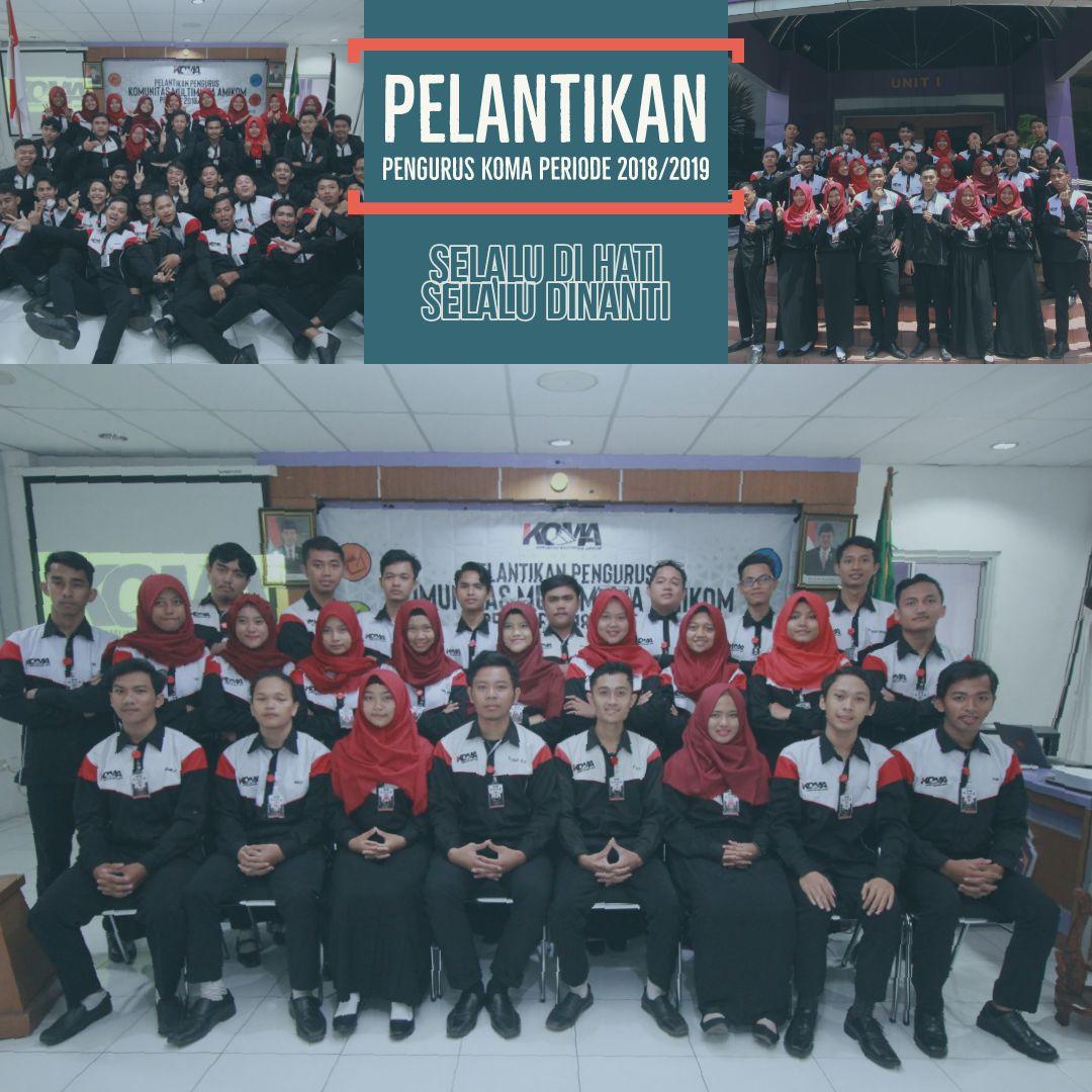 Pelantikan Pengurus KOMA Periode 2018/2019