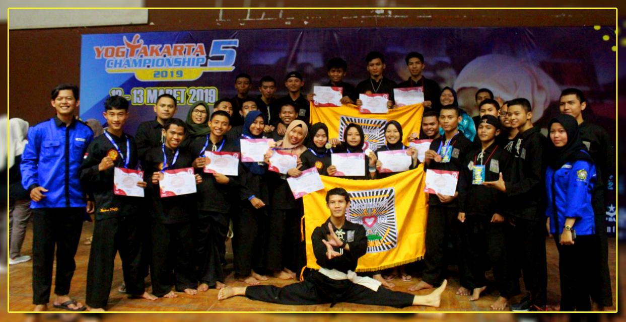 Pencak Silat Amikom Raih 9 Medali di YKTC 5 2019