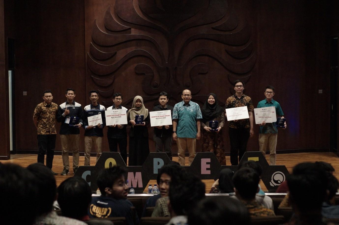 Mendominasi di Final, AMCC AMIKOM Juara 2 Compfest 11 di UI