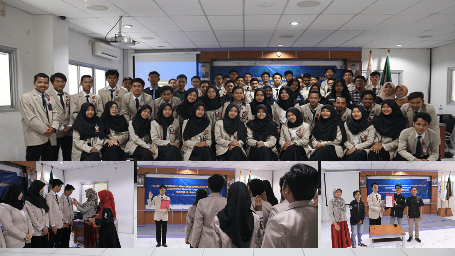 Berita Acara Pelantikan Pengurus Himpunan Mahasiswa Informatika Universitas AMIKOM Yogyakarta periode 2019/2020