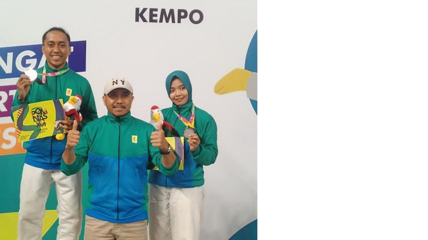 2 Mahasiswa Amikom Menyumbangkan Medali pada Cabang Kempo di POMNAS XVI 2019