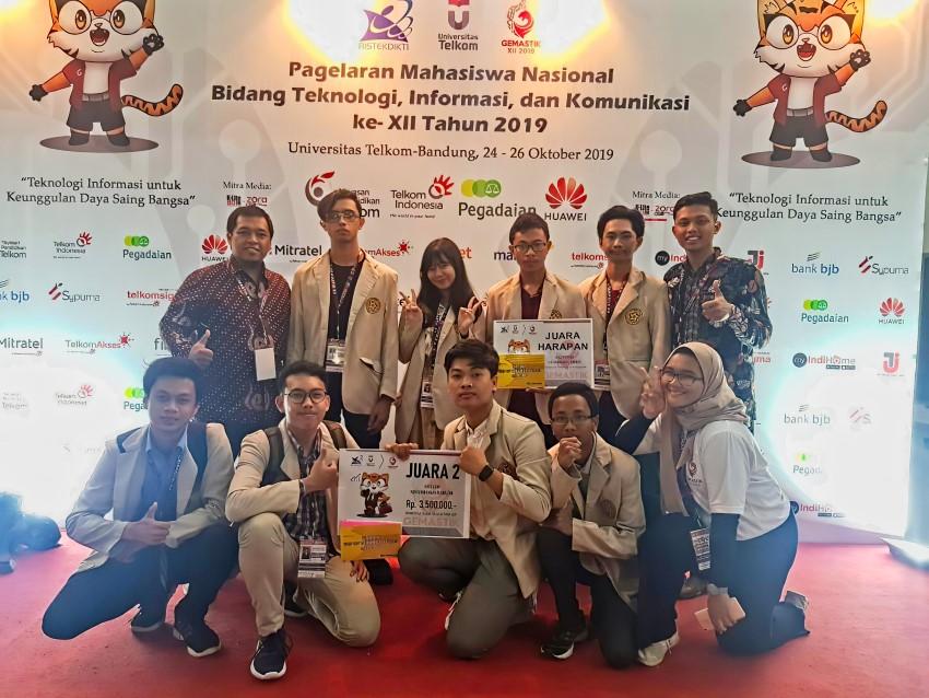 Team Amikom Membawa Dua Juara Dari GEMASTIK XII